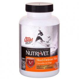 Nutri-Vet (Нутри Вет) Shed-Defense Max - ЗАЩИТА ШЕРСТИ таблетки для собак 60 табл