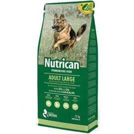Nutrican ADULT LARGE корм для взрослых собак крупных пород 15 кг + 2 кг В ПОДАРОК