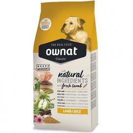 Ownat Classic LAMB & RICE корм для взрослых собак всех пород ЯГНЕНОК и РИС