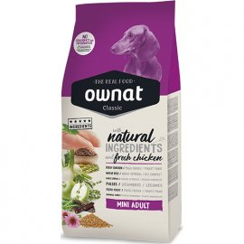 Ownat Classic MINI ADULT корм для взрослых собак малых пород (1-10 кг) КУРИЦА
