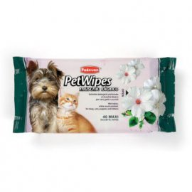 Padovan (Падован) PET WIPES MUSCHIO BIANCO (БЕЛЫЙ МУСКУС) салфетки для собак и кошек, 40 шт