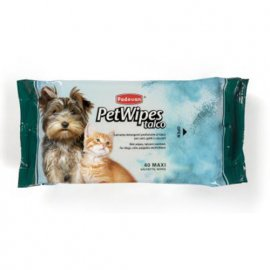 Padovan (Падован) PET WIPES TALC (ТАЛЬК) салфетки для собак и кошек, 40 шт