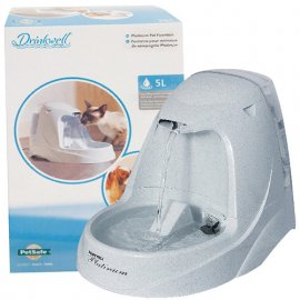 PetSafe Drinkwell Platinum Pet Fountain автоматический фонтанчик-поилка для собак, 5 л