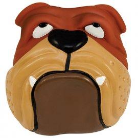 Petstages (Петстейджес) BullDog Ball - Бульдог - Виниловая игрушка для собак, диаметр 8 см