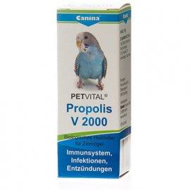 Canina (Канина) Petvital V2000 Propolis - Кормовая добавка для укрепления иммунной системы птиц, 10 г