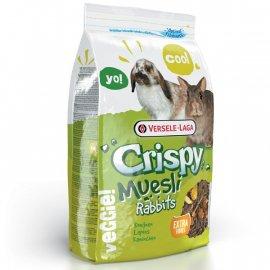 Versele-Laga (Верселе-Лага) CRISPY MUESLI RABBITS CUNI (КРИСПИ МЮСЛИ КУНИ) корм для карликовых кроликов