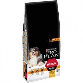 Pro Plan Dog Medium Adult с комплексом OPTIHEALTH - корм для собак средних пород c курицей
