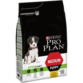 Pro Plan Dog Medium Puppy с комплексом OPTISTART- корм для щенков средних пород c курицей
