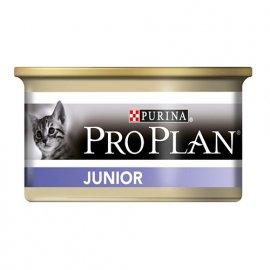 Pro Plan JUNIOR CHICKEN консервы для котят, паштет КУРИЦА