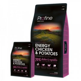 Profine (Профайн) Energy Chicken & Potatoes - сухой корм для активных собак с курицей и картофелем