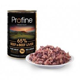 Profine BEEF & BEEF LIVER консервы для собак (говядина/говяжья печень)