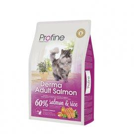 Profine (Профайн) DERMA SALMON ADULT (ДЕРМА ЛОСОСЬ) сухой корм для кошек