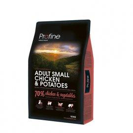 Profine (Профайн) Adult Small Breed Chicken & Potatoes - сухой корм для взрослых собак мини пород с курицей и картофелем