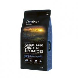 Profine (Профайн) Junior Large Breed Chicken & Potatoes - сухой корм для молодых собак крупных пород с курицей и картофелем