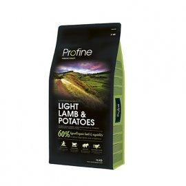 Profine LIGHT LAMB & POTATOES корм для собак с лишним весом с ягненком и картофелем