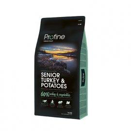 Profine (Профайн) Senior Turkey & Potatoes - сухой корм для пожилых собак с индейкой и картофелем