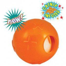Petstages (Петстейджес) Ball with Bell Игрушка для кошек мячик с колокольчиком, диаметр 4 см