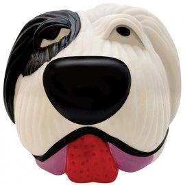 Petstages (Петстейджес) Black&White Dog Ball  - Белый Бим Черное ухо - Виниловая игрушка для собак, диаметр 8 см