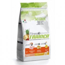 Trainer Fitness3 Adult Medium&Maxi With Rabbit Potatoes Oil - для взрослых собак средних и крупных пород с Кроликом