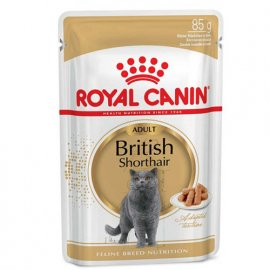 Royal Canin BRITISH SHORTHAIR ADULT влажный корм для кошек породы британская короткошерстная