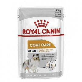 Royal Canin COAT CARE влажный корм для собак для красоты и блеска шерсти (паштет)
