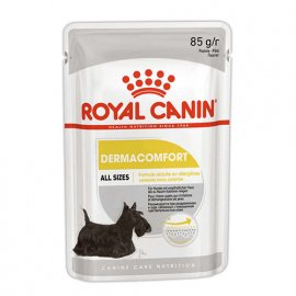 Royal Canin DERMACOMFORT влажный корм для собак с чувствительной кожей (паштет)