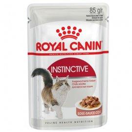 Royal Canin INSTINCTIVE in GRAVY консервы для кошек (кусочки в соусе)