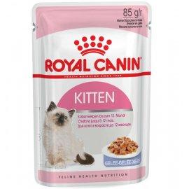 Royal Canin KITTEN INSTINCTIVE in JELLY влажный корм для котят в возрасте 4-12 месяцев (кусочки в желе)