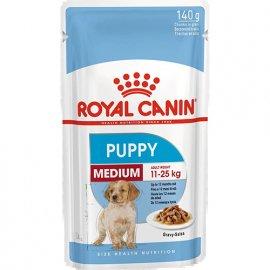 Royal Canin MEDIUM PUPPY влажный корм для щенков средних пород от 2 до 12 месяцев, 140 г