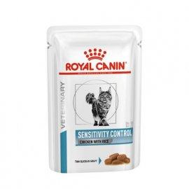 Royal Canin SENSITIVITY CONTROL лечебные консервы для кошек при пищевой аллергии