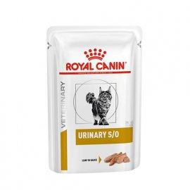 Royal Canin URINARY S/O лечебные консервы для кошек при заболеваниях нижних мочевыводящих путей (паштет)