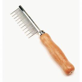 Safari SHEDDING LONG HAIR расческа для длинной шерсти с деревянной ручкой