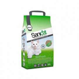 Saniсat (Саникет) BioFresh - комкующийся наполнитель для кошачьих туалетов, 10 л