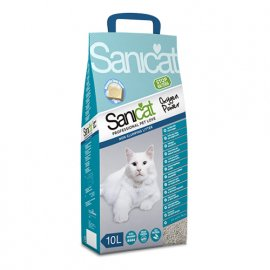 Saniсat (Саникет) Oxygen Power - Комкующийся наполнитель для кошачьего туалета - сила кислорода 10 л