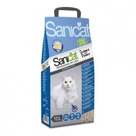 Saniсat OXYGEN POWER CLUMPING комкующийся наполнитель для кошек, активный кислород, 10 л