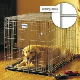 Savic DOG RESIDENCE цинковая клетка для собак, цвет хамершлак