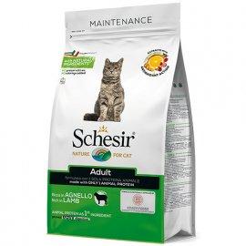 Schesir ADULT LAMB сухой монопротеиновый корм для котов ЯГНЕНОК