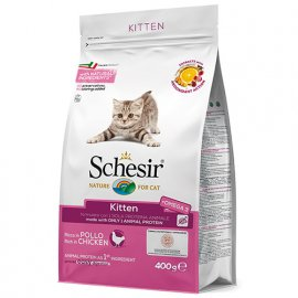 Schesir KITTEN сухой монопротеиновый корм для котят КУРИЦА
