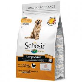 Schesir LARGE ADULT CHICKEN сухой монопротеиновый корм для взрослых собак крупных пород КУРИЦА