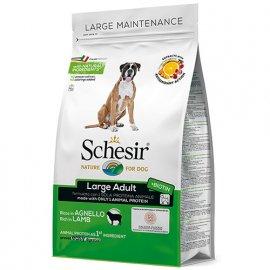 Schesir LARGE ADULT LAMB сухой монопротеиновый корм для взрослых собак крупных пород ЯГНЕНОК, 12 кг