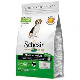 Schesir MEDIUM ADULT LAMB сухой монопротеиновый корм для взрослых собак средних пород ЯГНЕНОК, 3 кг