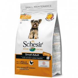 Schesir SMALL ADULT сухой монопротеиновый корм для собак малых пород КУРИЦА