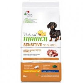 Trainer Natural Sensitive Adult Mini With Duck Rice Oil - корм для взрослых собак мелких пород с Уткой