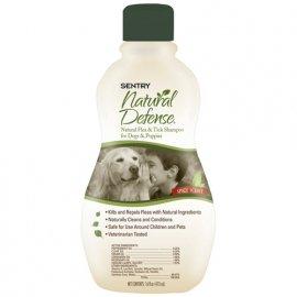 SENTRY (Сентри) Natural Defense Натуральная защита шампунь против блох и клещей для собак и щенков