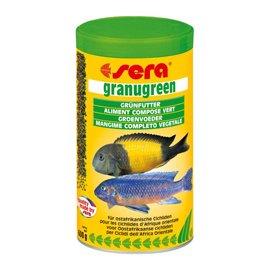 SERA granugreen Гранугрин - корм для растительноядных цихлид, 250 мл