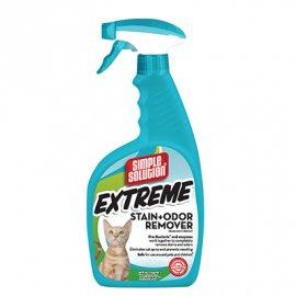 Simple Solution Extreme Cat stain and odor remover - сверхмощное средство для нейтрализации запахов и удаления стойких пятен, 945 мл
