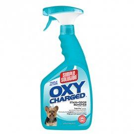 Simple Solution OXY CHARGED STAIN+ODOR REMOVER - средство от запахов и стойких пятен, с активным кислородом, 945 мл