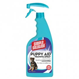 Simple Solution PUPPY AID TRAINING SPRAY - спрей для приучения щенков к туалету, 480 мл