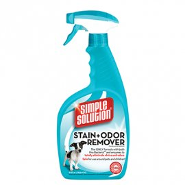 Simple Solution STAIN+ODOR REMOVER - средство для нейтрализации запахов и удаления пятен, 945 мл