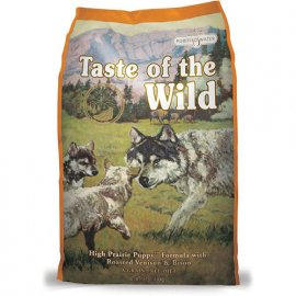 Taste of the Wild HIGH PRAIRIE PUPPY FORMULA - корм для щенков с жареной олениной и мясом бизона